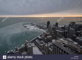 chicago usa 21 december 2016 weather the on the winter
