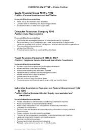 clerical assistant resume sample clerical resume 28 images