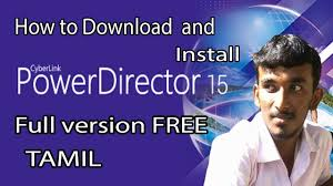 full version power download how to download install cyberlink power director 15 full version
