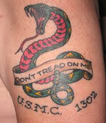 don t tread on me tattoos designs ideas and meaning tattoos for you