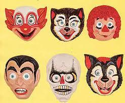 vintage masks 1950s 1
