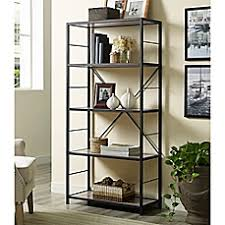 Metal Bookcases Bookcases Bookshelves Wood U0026 Metal Bookcases Bed Bath U0026 Beyond