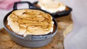 maple sweet potato mash with toasted marshmallow today