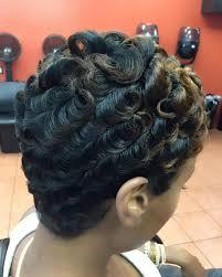 shortcut for black hair smooth silky pixiecurls shortcut curlsnwaves yayahair