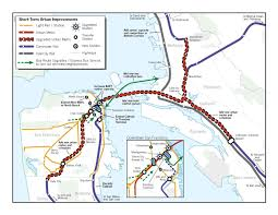 Sf Bart Map 2008 Regional Rail Maps For Spur