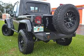 jeep bumpers jk rear elite bumper with led lights included proline 4wd
