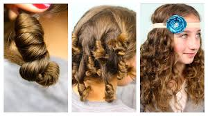 cool easy hairstyles for curly hair hairstyles