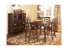 ashley furniture porter casual dining room group miskelly