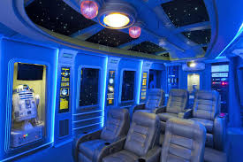 Home Theater Interior Design by Pics Of The Best Star Wars Inspired Home Theaters Digital Trends