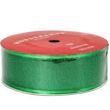 metallic ribbon green sheer metallic ribbon 100ft wondershop target