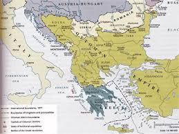 Ottoman Period Map Of Balkans At The Ottoman Period