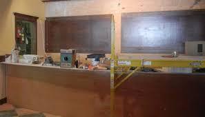 Comfort Diner Sneak Peek Comfort Diner Construction Progresses The Lo Down