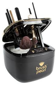 brushpearl an automatic makeup brush cleaner machine