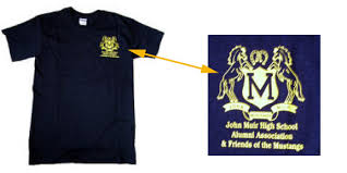 alumni tshirt muir high school alumni association alumni t shirts
