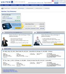 United Flight Change Fee by 125 New York City To From Chicago Nonstop R T Fly Com