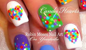 robin moses nail art bright neon spring rainbow dotticure nail