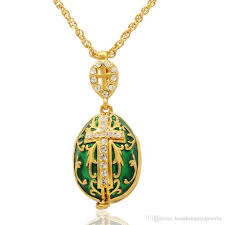 handmade angel necklace images Wholesale maria jesus and two angels cross locket pendant faberge jpg