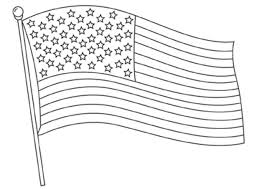 American Flag Coloring Pages Bestappsforkids Com Flag Color Page