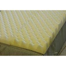 foam for bed eggcrate mattress foam egg crate mattress overlay