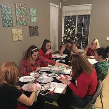 ladies u0027 night christmas crafts party no 12 u2014 year of parties