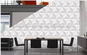 Decorative Wall Paneling by 2014 New Type 3d Decorative Wall Panel For Sound Proofing Buy