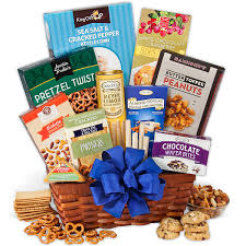 Birthday Gift Baskets For Men Snack Gift Basket Classic By Gourmetgiftbaskets Com