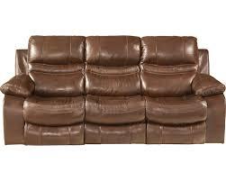 Catnapper Reclining Sofa Reviews Catnapper Patton Top Grain Italian Leather Lay Flat Reclining Sofa