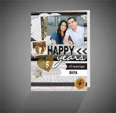 customized anniversary gifts personalized happy anniversary greeting card giftsmate