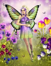 birthstones fairies motýlí kouzelná krajina butterfly magic landscape víly