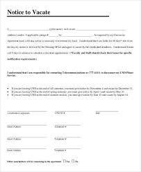 sample eviction notice template 37 free documents in pdf