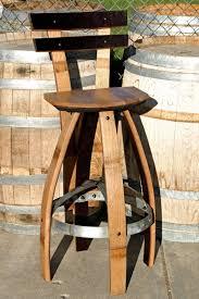 best 25 wine barrel bar stools ideas on pinterest barrel for wine