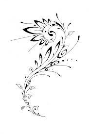 tattoo tribal flower