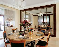 glamorous dining room with art deco interior design also cool