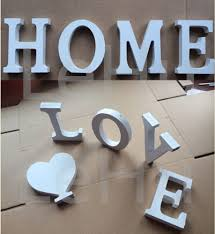 Home Decor Letters Of Alphabet Home Decor Thick Wood Wooden White Letters Alphabet Wedding Birthday