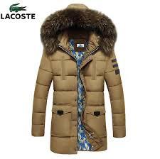 doudoune lacoste pas cher pas 2017 nouveau doudoune lacoste homme capuche fourrure beige hiver