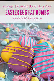 sugar easter egg keto easter cookie dough bombs healthful pursuit
