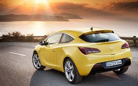 opel yellow 2012 opel astra gtc shown before frankfurt debut would it make a