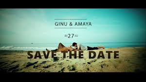 save the date wedding ginu amaya wedding save the date created by studio mahal