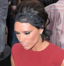 lace headbands poll how did you like beckham s lace headband as seen