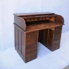 oak roll top desk desks u0026 library tables antique furniture