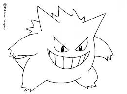 pokemon coloring pages images great pokemon images to color printable for tiny ghost pokemon