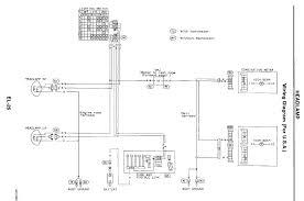nissan light wiring diagram wiring diagrams