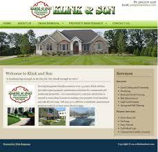 web design services for small business niagara region web design landscaper property management website design landscaping company