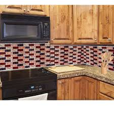 amazon com 3d peel and stick backsplash vinyl anti mold kitchen