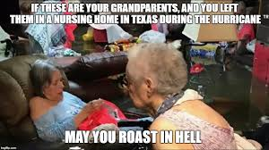 Nursing Home Meme - if these are your grandparents and you left them in a nursing home