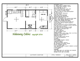 Cabin Floorplans by Our Cabins Hideaway Cabins
