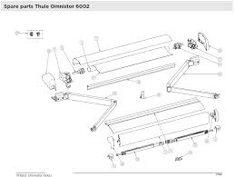 Omnistor Awning Parts 6002 Spares