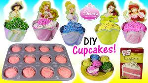 cinderella cupcakes diy disney princess cupcakes decorate cinderella ariel with