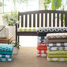 Indoor Outdoor Bench Cushions Outdoor Inch Patio Cushions Garden Seat Pads Chair Sunbrella