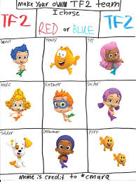 team fortress 2 bubble guppies by paula712 on deviantart